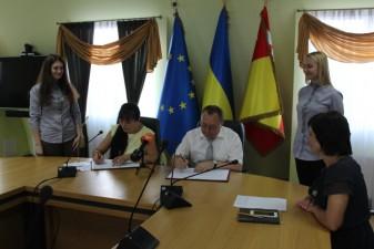 Підписано меморандум про співпрацю з Луцькою міською радою