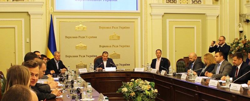 """Комітетські слухання на тему: """" Молодіжне житлове кредитування - вклад в майбутнє Європейської України"""""""
